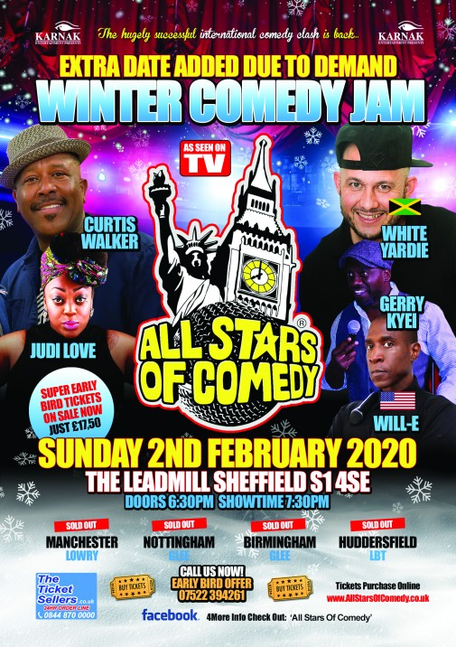A5 comedy front 2020 Winter Comedy jam